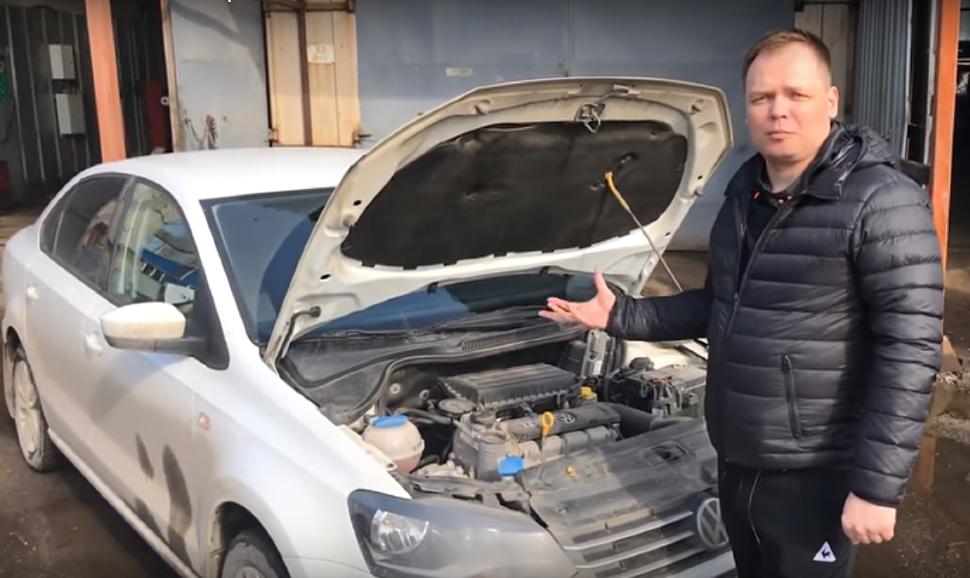 Раскоксовка, Промывка Двигателя (Volkswagen)